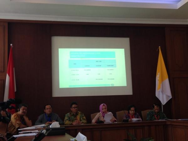 40.894 Peserta Ikuti SBMPTN di Panlok 46 Yogyakarta