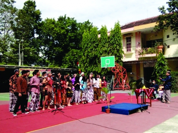SMA Bopkri 2 Yogyakarta Gelar Pesta Kebudayaan