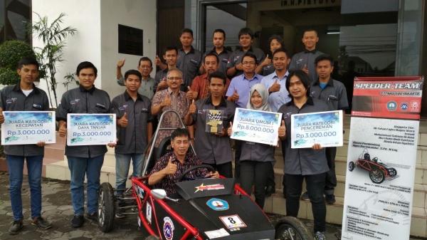 Speeder Inspiration STTNas Yogyakarta Jawarai KMLI IX