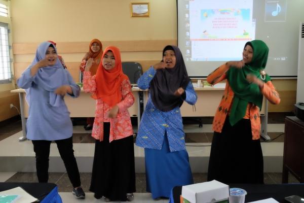Koordinasi Rekaman Program Ekspresi Anak Radio Edukasi dengan Guru-Guru di Wilayah DIY