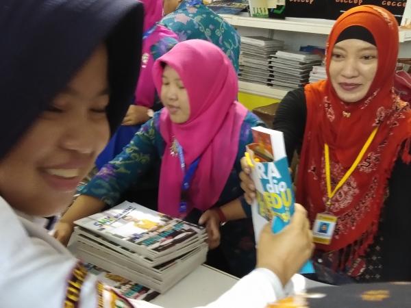 Produk BPMRPK Diserbu Insan Pendidikan Se-Indonesia di RNPK 2018