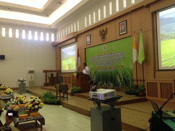 Indonesia jadi Lumbung Pangan Dunia Tahun 2045