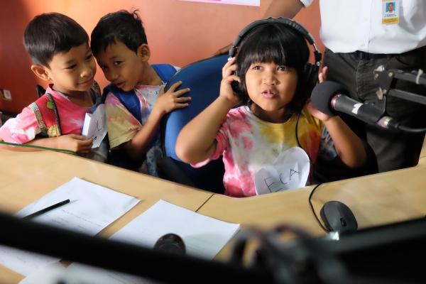 Peringati Hari Radio, Sekolah Gajahwong berkunjung ke BPMRPK