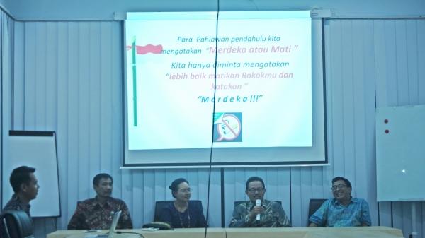 Tindak Lanjuti Kawasan Tanpa Rokok, MTCC UMY Gelar Diskusi