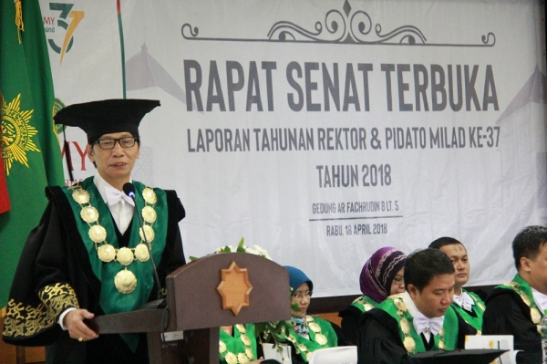 Milad ke 37, UMY Siap Jadi International Reputable University