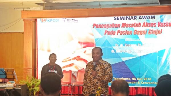 Edukasi Pasien Gagal Ginjal, KPCDI Selenggarakan Seminar