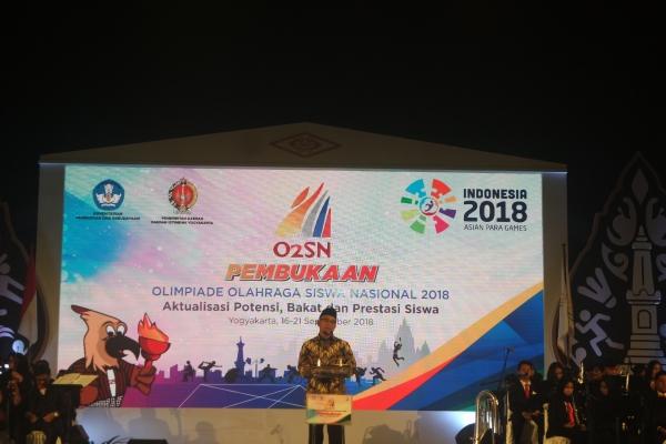 Sebanyak 1938 Siswa Akan Berlaga di O2SN 2018