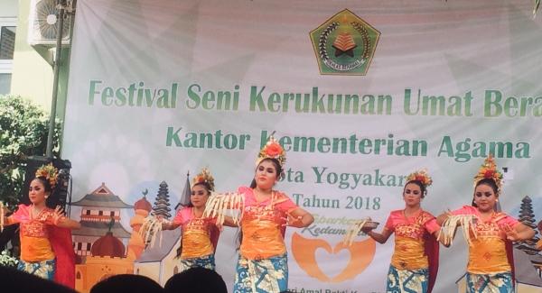 Kemenag Kota Yogyakarta Gelar Festival Seni Kerukunan Umat Beragama dalam Rangka Hari Amal Bakti Ke-73