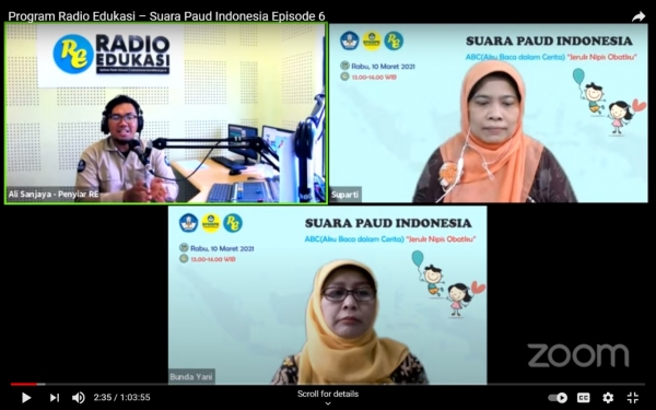Suara PAUD Indonesia Aku Baca Dalam Cerita (ABC)