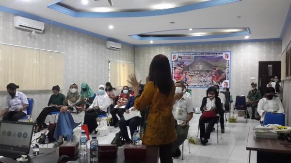 Workshop Pembelajaran Media Pendidikan dan Kebudayaan bagi PAUD di Manokwari, Papua Barat