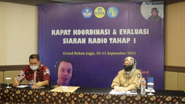 Evaluasi dan Koordinasi Pelaksanaan Siaran Radio Pendidikan