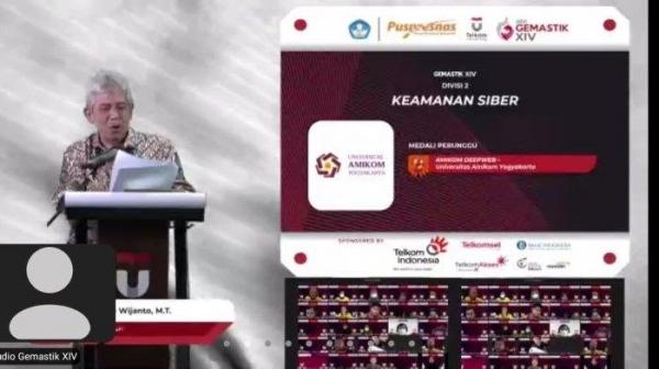 Tim Amikom Raih Medali Perunggu Pada Kompetisi Gemastik XIV
