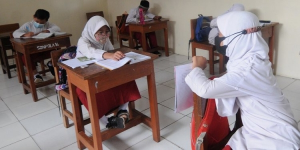 Sebanyak 5 SD di Kabupaten Sleman Gelar Uji Percontohan Penerapan PTM Terbatas
